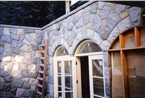 Exterior: Contact European Masonry Stone Work