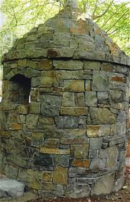 stone guard house